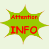 Attention info 1